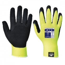 HI-VIS GRIP GLOVES - LATEX - A340