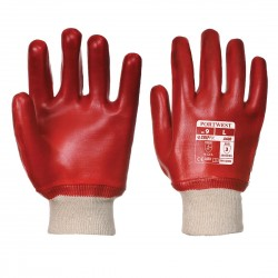 PVC KNITWRIST GLOVES - CARDED - RG40