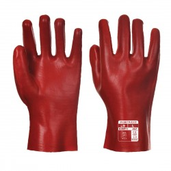 PVC GAUNTLET GLOVES - CARDED - RG42