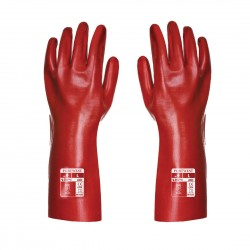 PVC GAUNTLET GLOVES - CARDED - RG43