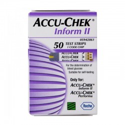 ACCU-CHEK Inform II Test Strips (50) Box