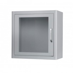 ARKY White Metal Indoor AED Cabinet with Alarm