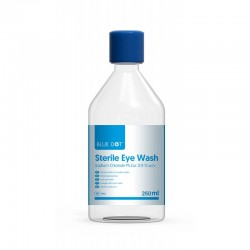 Blue Dot Sterile Eye Wash 250ml