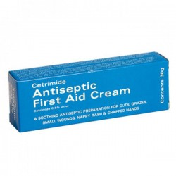 Cetrimide Antiseptic First Aid Cream 30g