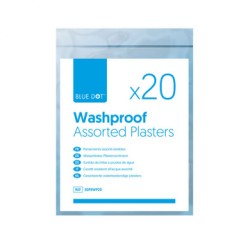 Washproof Assorted Plasters (Bag of 20)